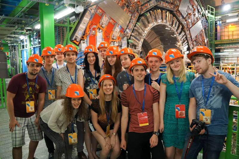 I took our society to CERN last year. Have not circled the women.